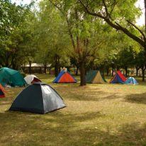 Camping Acampar. Arrecifes.