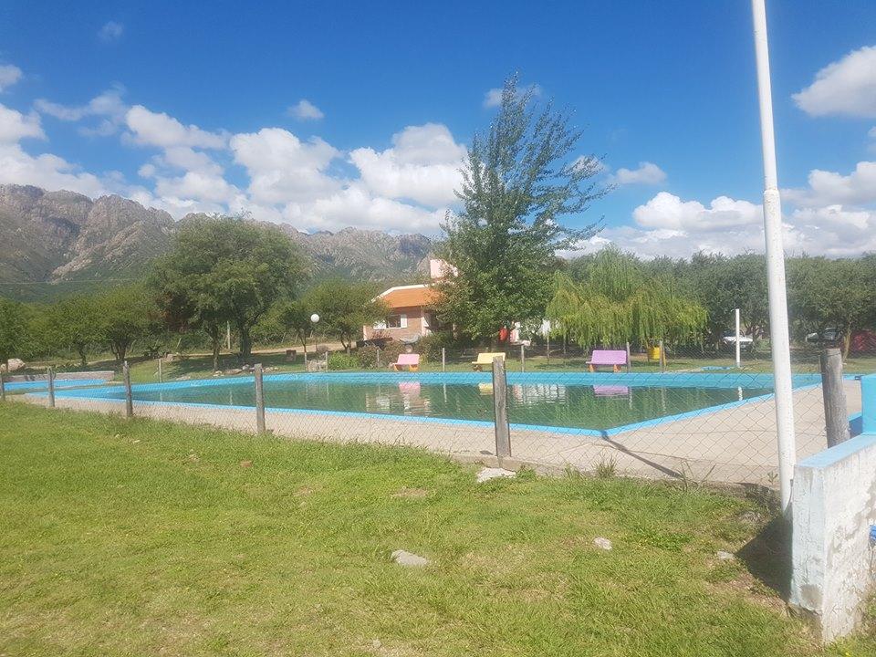 Camping y Balneario Municipal de Cortaderas San Luis.