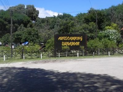 Dunamar Autocamping. Claromecó.
