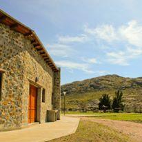 Refugio Boca de las Sierras. Azul