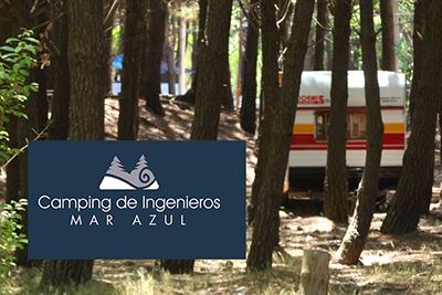 Camping De Ingenieros. Mar Azul