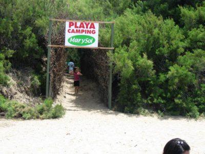 acceso desde la Playa