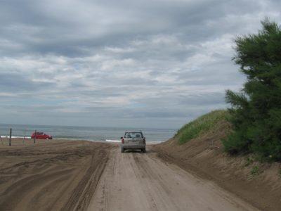 Inmensas playas en Marisol.