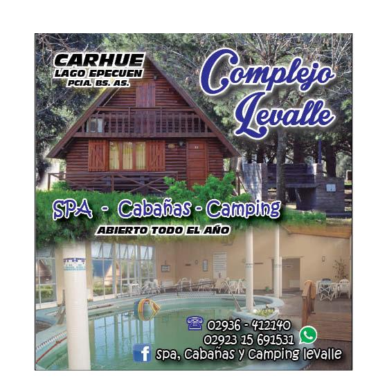 Complejo Spa Termal Levalle en Carhué